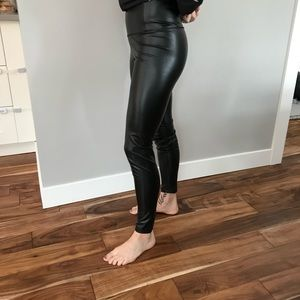 ANTISTAR faux leather pants